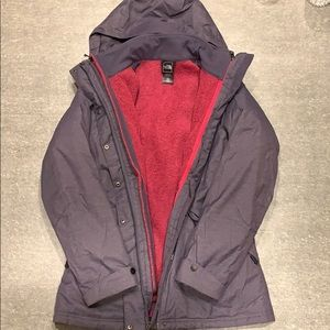 North Face - 2 in 1 Women's Jacket, Size 8